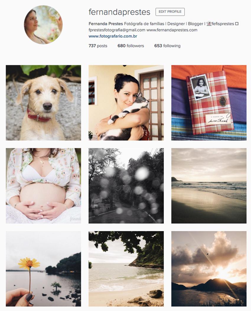 Instagram Fernanda Prestes