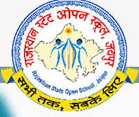Rajasthan State Open School / RSOS Time Table 2018 10th & 12th