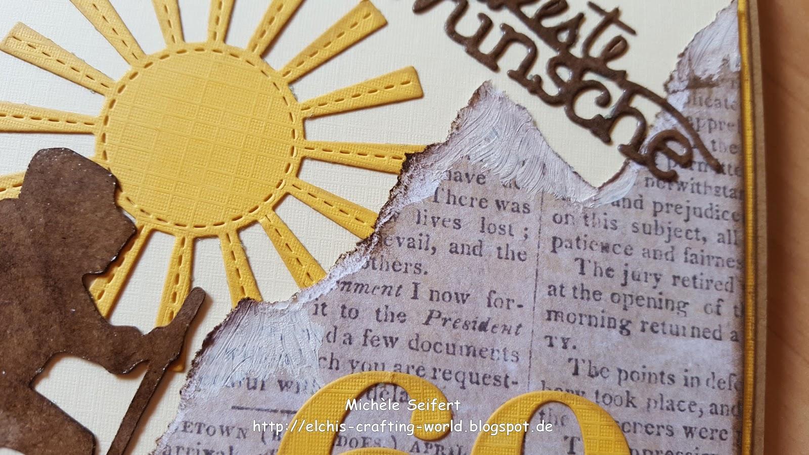 Jl creativshop challenge geburtstagskarte zum 60 for Geburtstagskarte 25 geburtstag