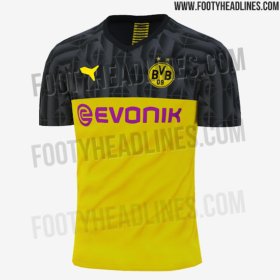 dee085d9fc8 Borussia Dortmund 19-20 Home, Away & Champions League Kits Leaked ...
