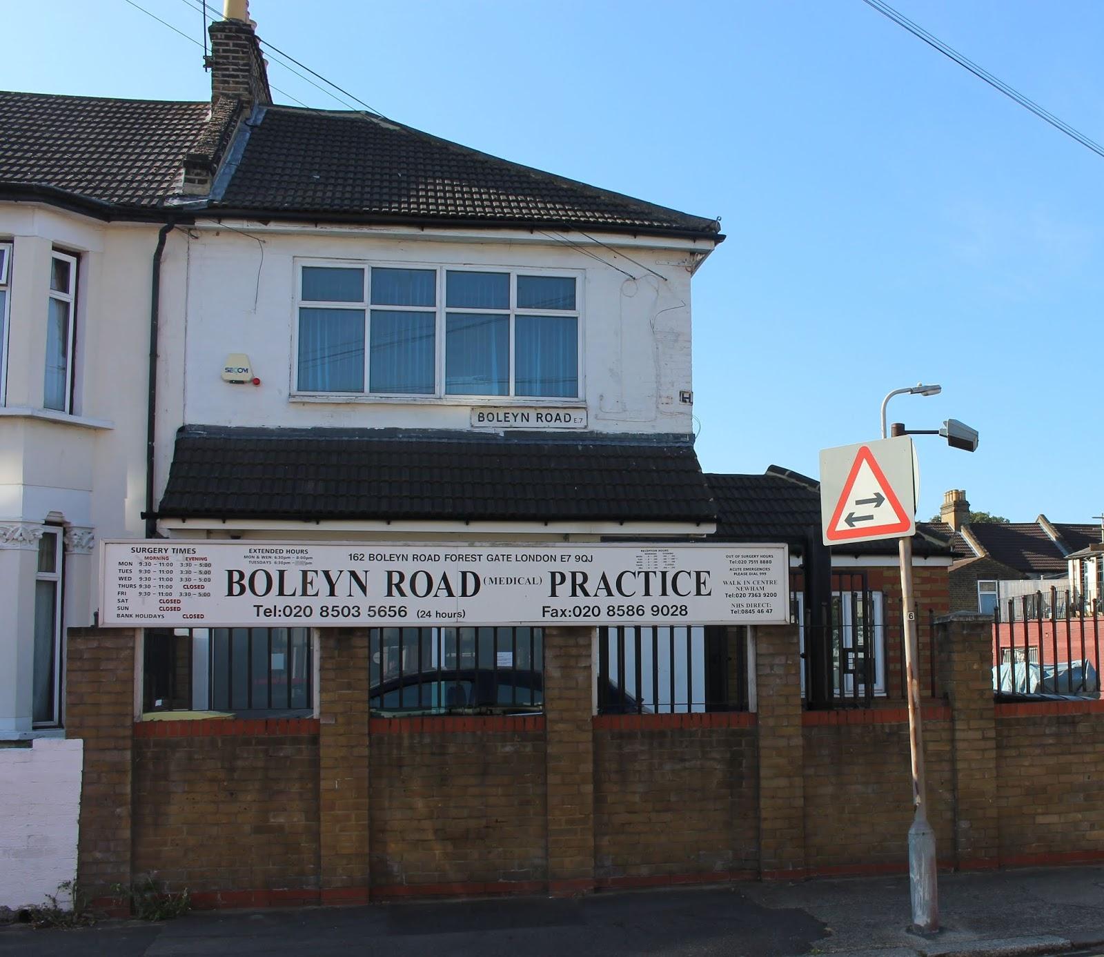 Boleyn Road Practice Lowest Public Rating In E7