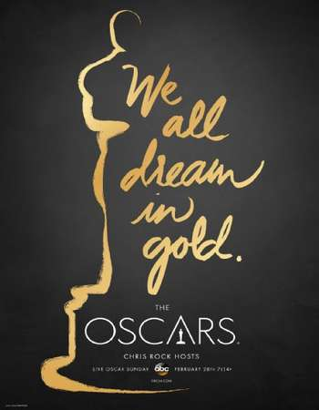 Poster Of The Oscars 2016 The 88th Annual Academy Awards 500MB HDTV 576p Free Download Watch Online