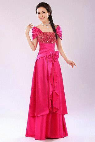 Model Kebaya Gaun Pesta Lengan Pendek Terbaru