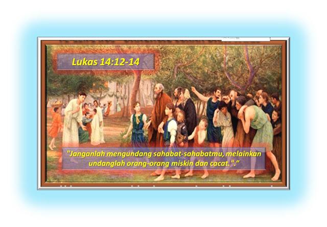 LUKAS 14:12-14