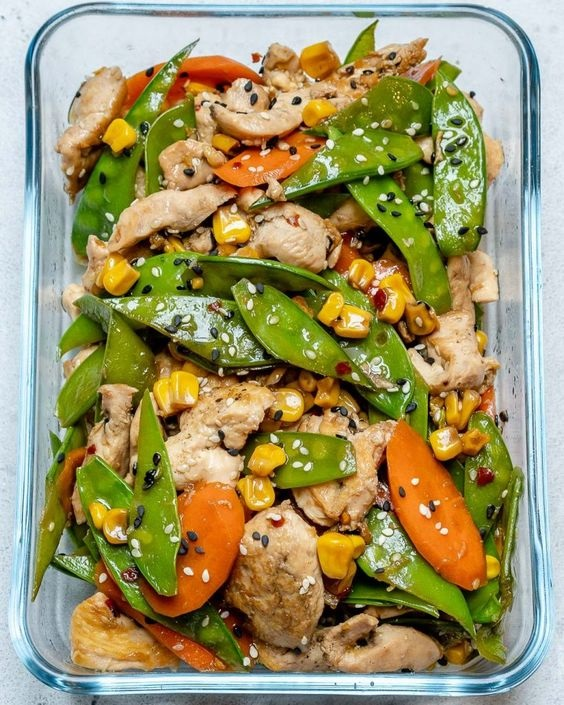 Super-Easy Chicken Stir Fry Recipe For Clean Eating