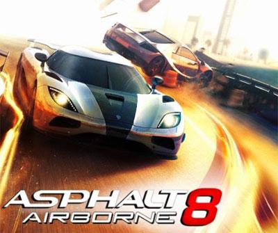 تحميل لعبة اسفلت Asphalt 8 Airborne للكمبيوتر