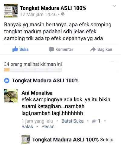 Efek Samping Tongkat Ajimat Madura
