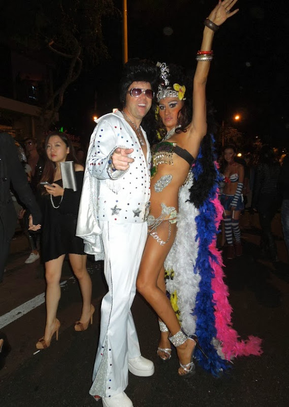 Elvis Vegas showgirl costumes West Hollywood