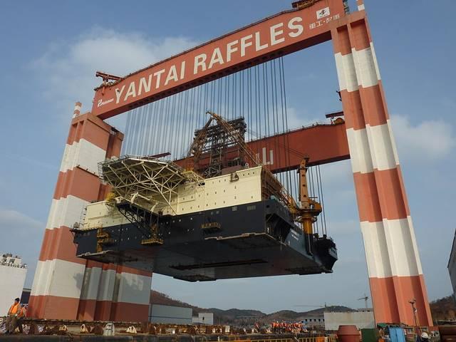 crane terkuat di dunia Taisun
