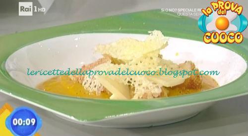Fonduta di zucca con variazione di caciocavallo ricetta Scarpa da Prova del Cuoco