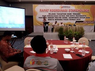 Bawaslu Kota Mojokerto Deteksi Kerawanan Tinggi Politik Uang di 2 Kecamatan, 8 Kelurahan dan 15 TPS