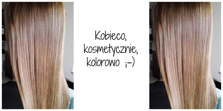 Kobieco Kosmetycznie Kolorowo Palette Rozany Blond Cv12
