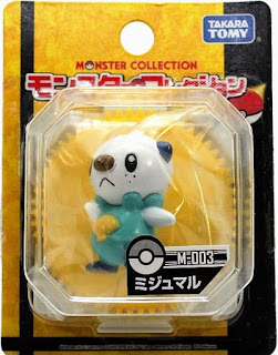 Oshawott figure Takara Tomy Monster Collection M series