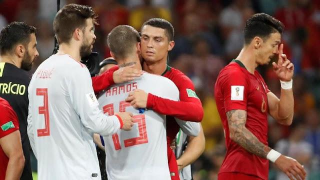 Portugal vs Spanyol 3-3, Ronaldo: Hasil yang Adil