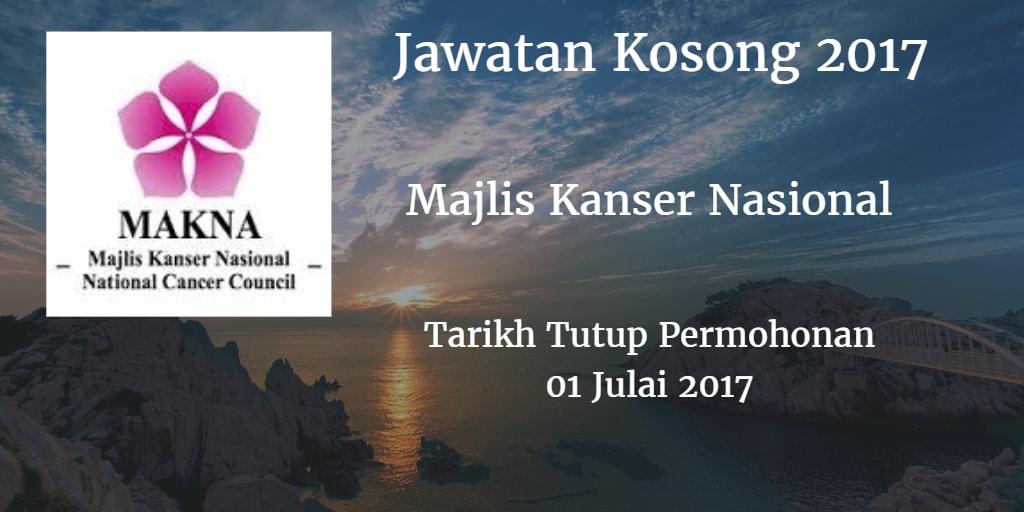Jawatan Kosong MAKNA 01 Julai 2017