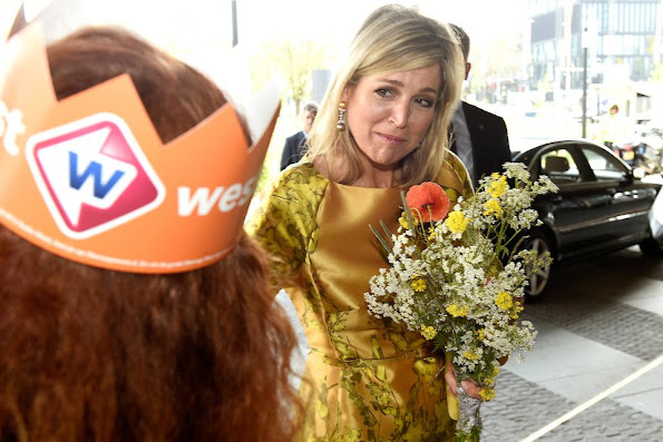 Dutch Queen Maxima opens the first anniversary congress of the Pension Federation in World Forum The Hague