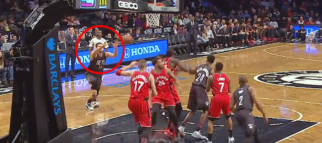 Brook Lopez Throws Down 'Statue of Liberty' Dunk (VIDEO)