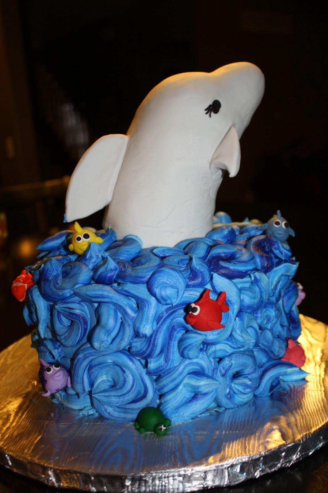 Hock Cakes Llc Dolphin Cake