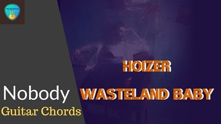 NOBODY Guitar chords ACCURATE | HOIZER (WASTELAND BABY)