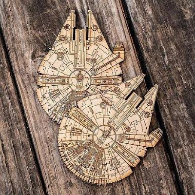 Millennium Falcon Coasters