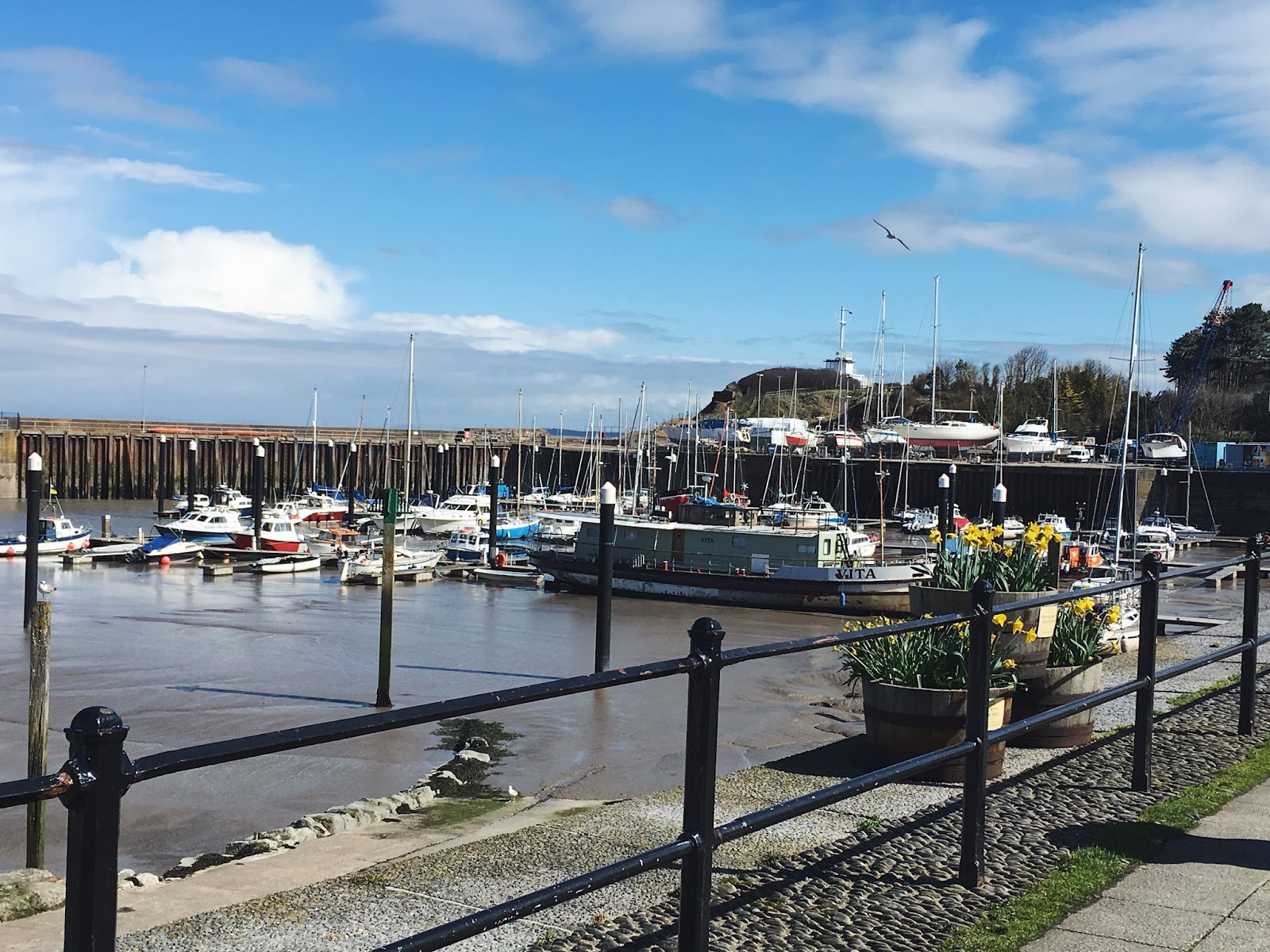 Watchet Harbour Town and Marina, Somerset