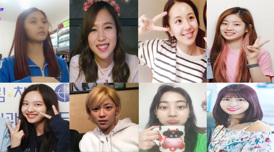 Here S How Each Member Pictures Of Twice Without Makeup Showbizkorea