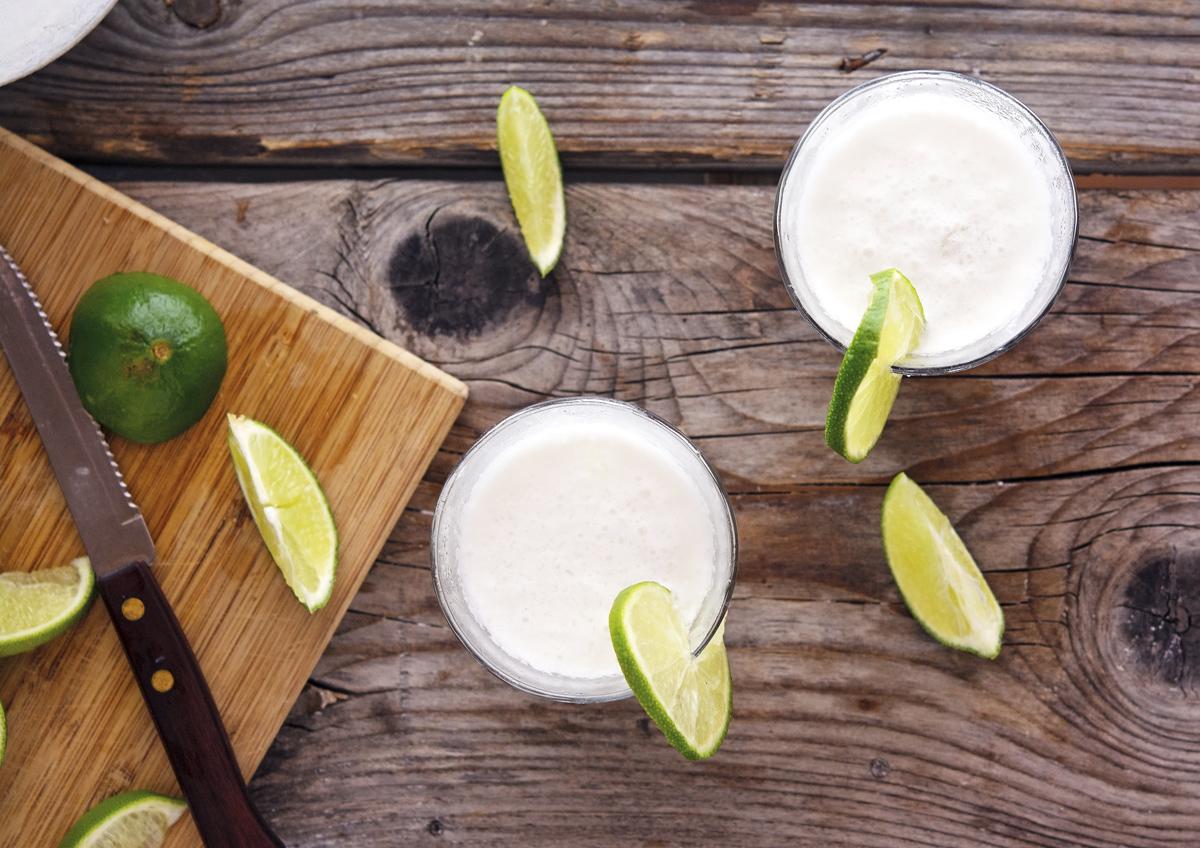 Limonada de Coco (Frozen Coconut Limeade)