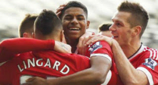 Manchester United Taklukan  Arsenal 3-2
