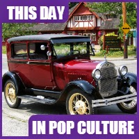 The Ford Motor Company sold it's first car, the Model A, on July 23, 1903.