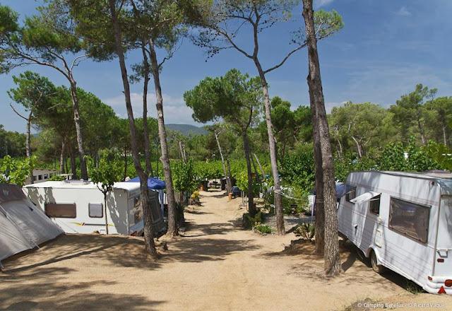 kamperen aan de costa brava