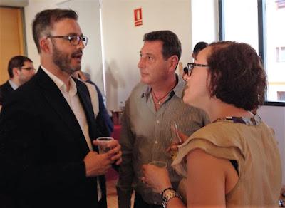 Hila, Martinez y Adrover charlan en los premios Eureka