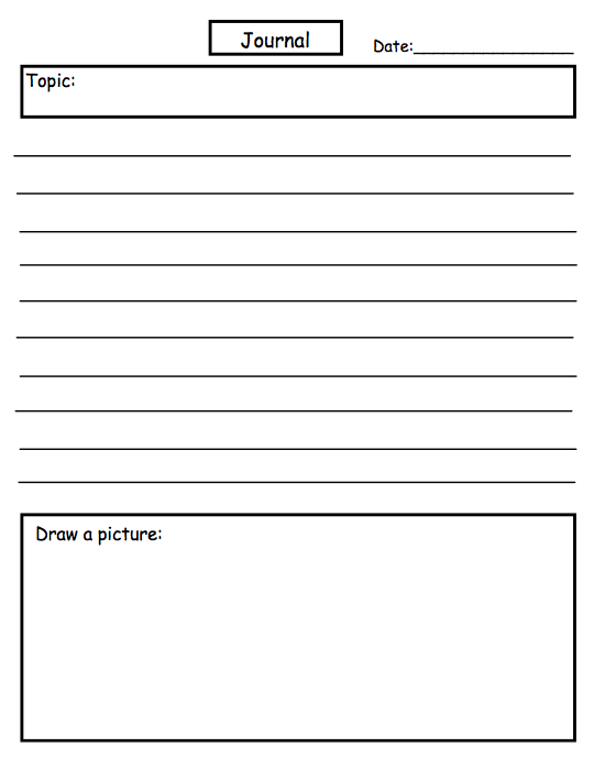 Ms Word Diary Template  Free Journal Templates