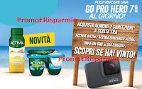 Logo Vinci una GoPro con Activia : 123 GoPro Hero 7 silver in palio