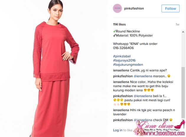 Baju Kurung Moden Cantik di PinkzFashion
