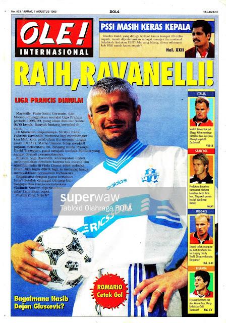 FABRIZIO RAVANELLI MARSEILLE 1998