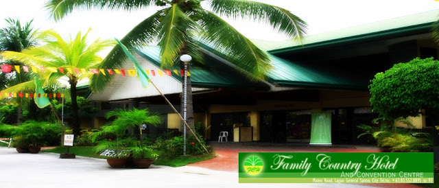Facade of Family Country Hotel in General Santos City