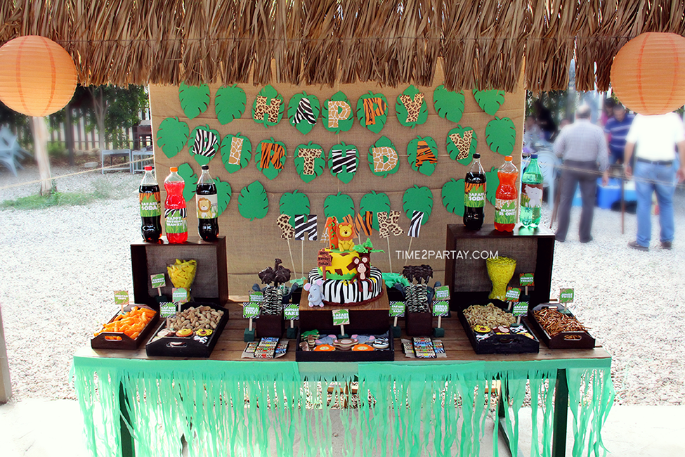 Jungle Themed First Birthday Party Time2partay Com