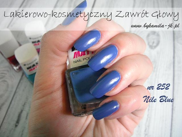 Lakiery My Secret Wax Matt - Nile Blue