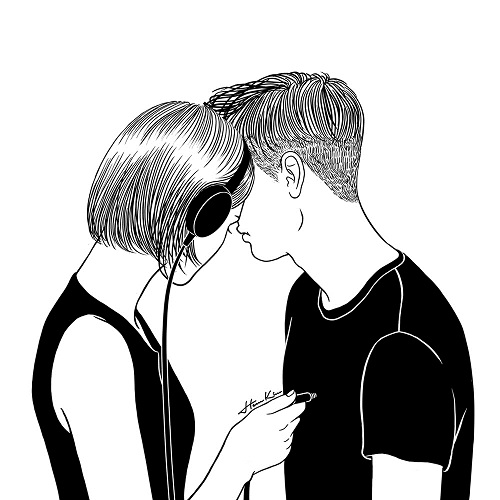 """Suddenly all the love songs were about you"" by Henn Kim 