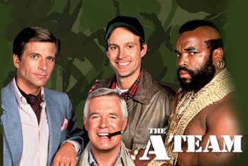 Film seri TVRI legendaris - The A-team- Nostalgia era 80