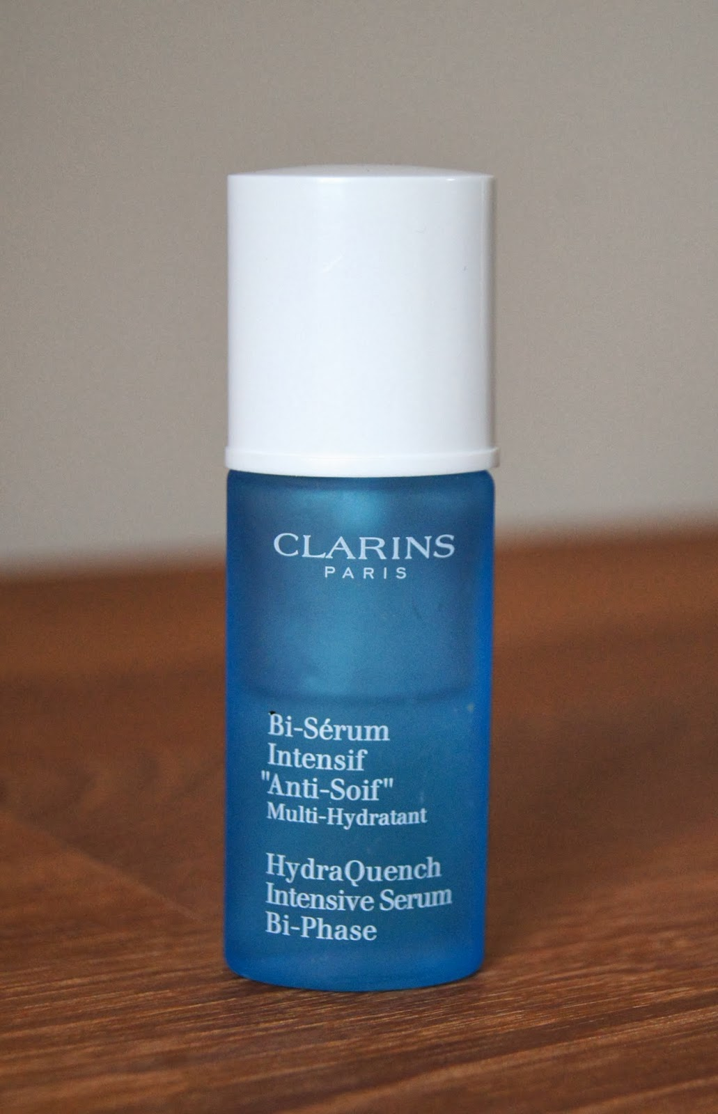 clarins hydraquench intensive bi phase serum review