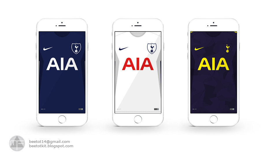 Beetot Kit Tottenham Hotspur Kit 1718 Iphone 7 Wallpaper
