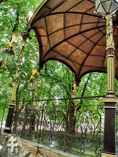 NANCY (54) - Kiosque à musique du Parc de la Pépinière (1874-75)