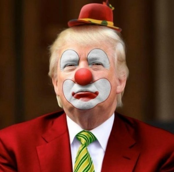 Resultado de imagen para Caricaturas Johnson Trump - Payasos