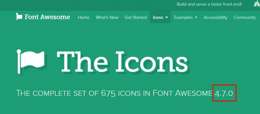Add Fontawesome icon and Use