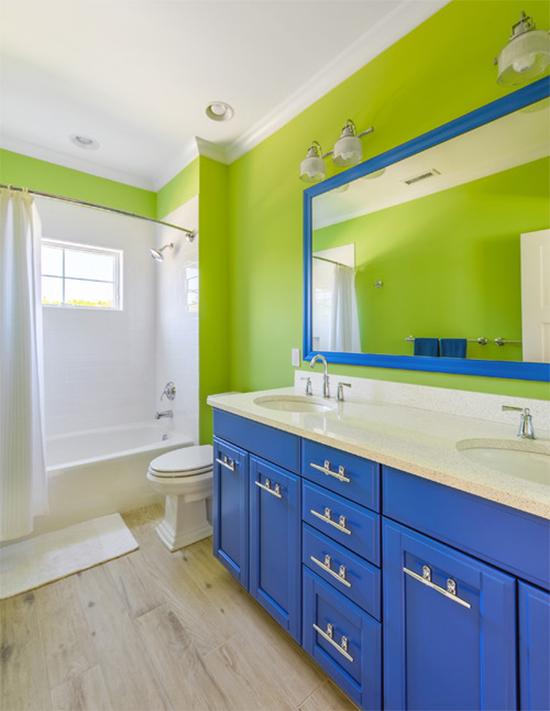 greenery a casa eh sua, acasaehsua, decoração, decor, home decor, home design, interior design, interior, banheiro colorido