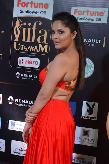 Anasuya Hot at IIFA Utsavam Awards 2017 Day 2