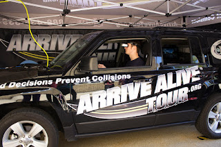 UNITE's Arrive Alive Tour® Visits Tri-County Regional to Inform Students About Impaired Driving
