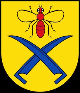 Mouche ermite  Muchow_Wappen