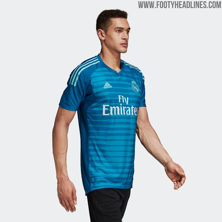 online store 2ae18 34b62 Real Madrid 18-19 Goalkeeper Home & Away Kits Released ...